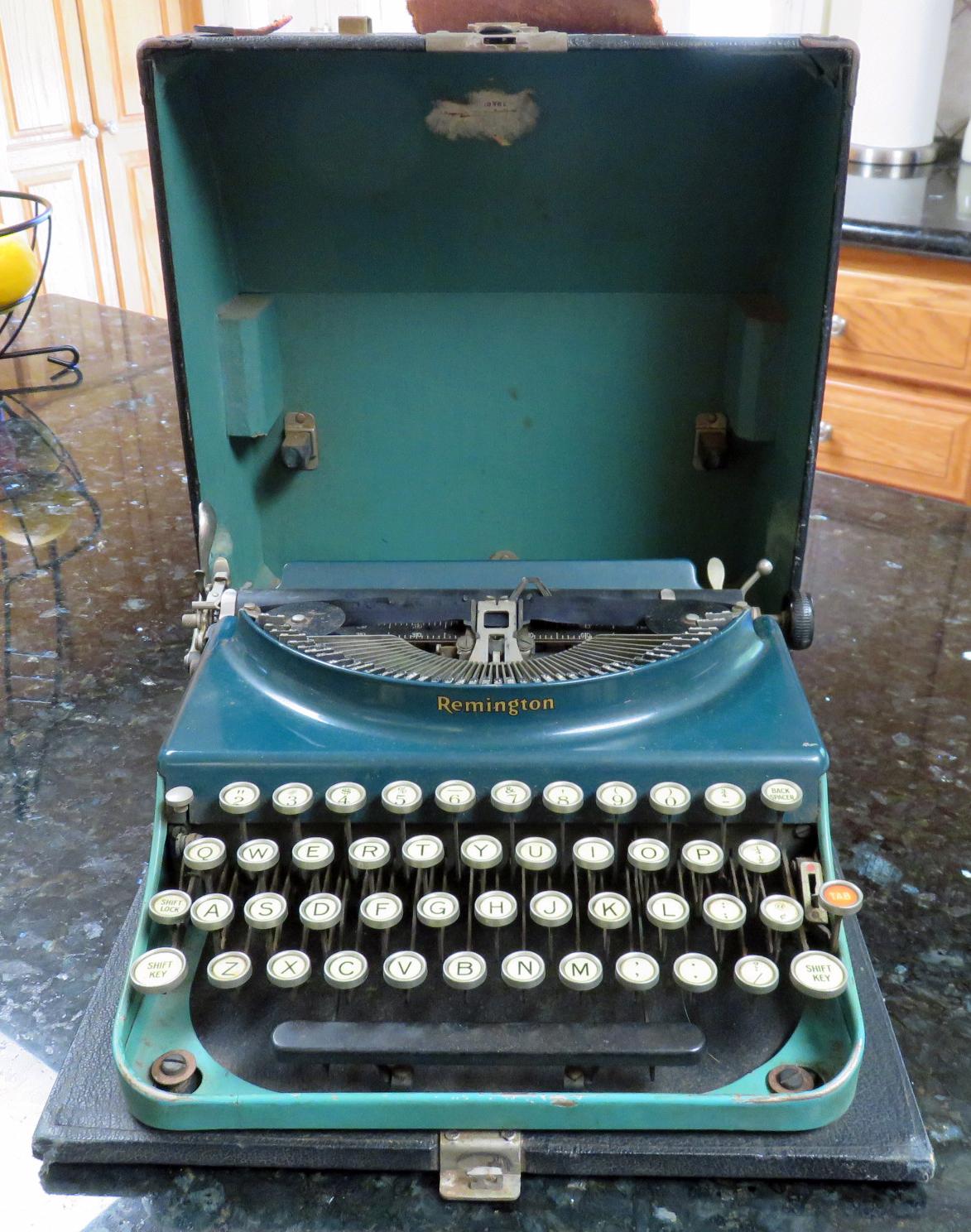 Remington Typewriter 1930